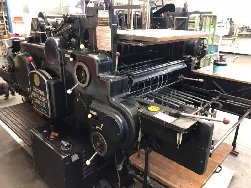 SATILDI / SOLD Heidelberg SGB 56/77
